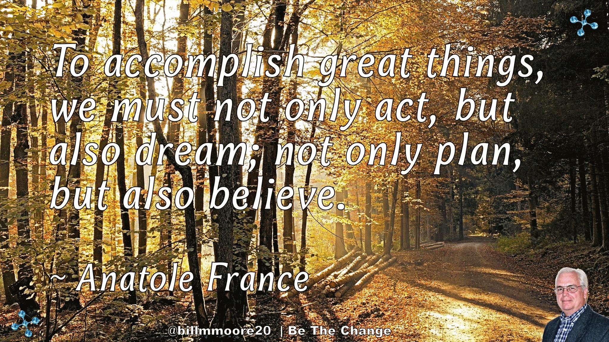 Accomplish Great Things