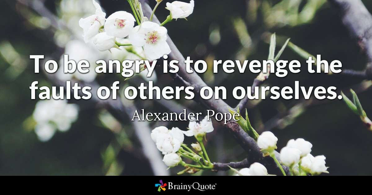 Angry quote