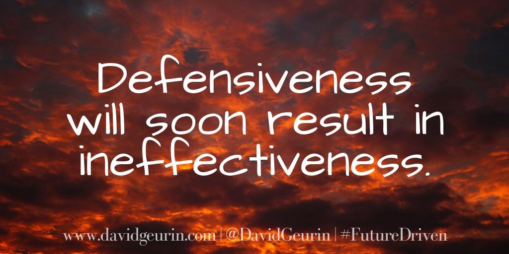 Defensiveness Quote