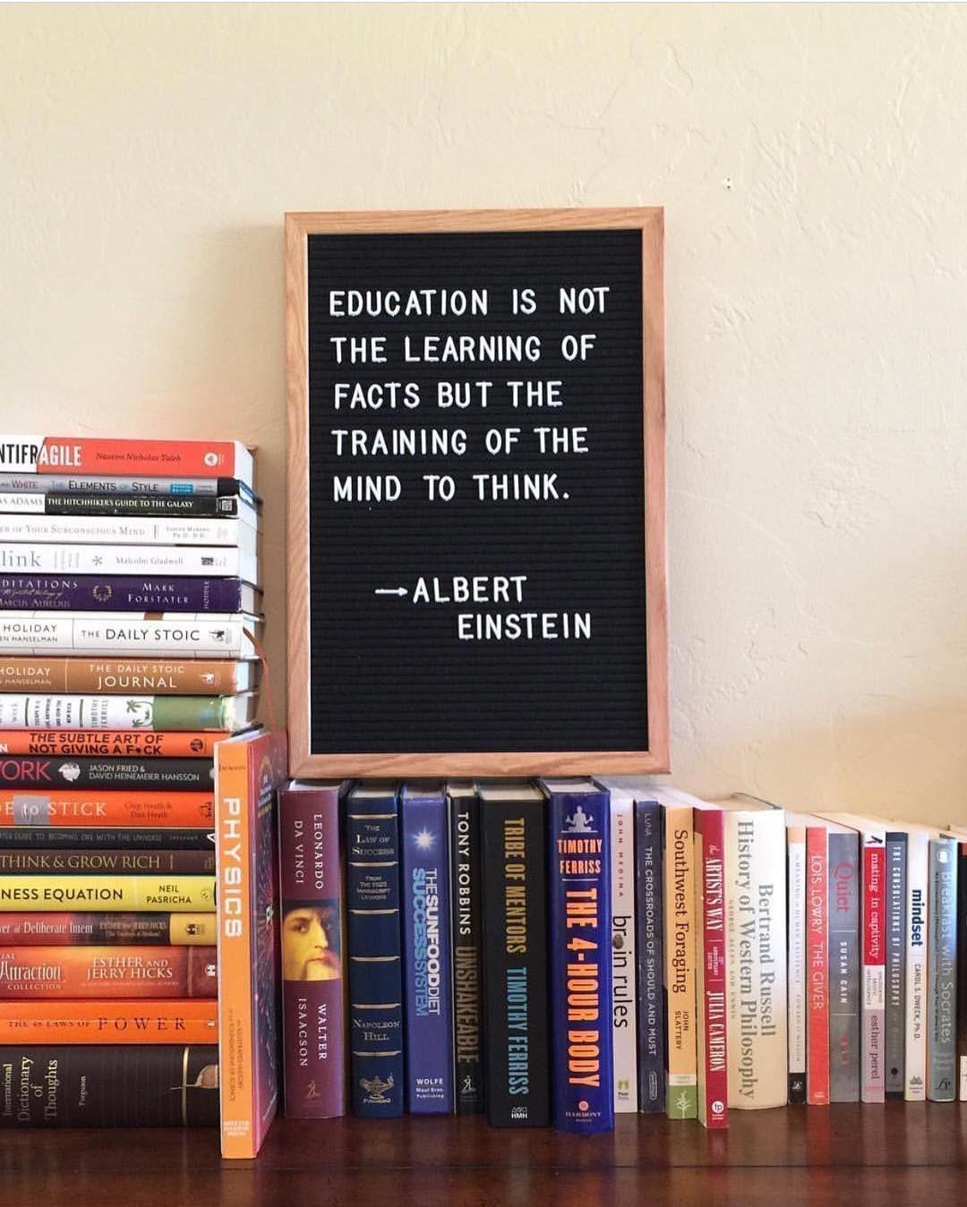 Education Is Einstein