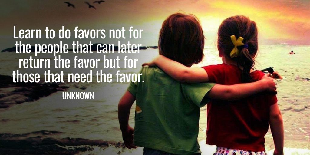 Favors quote