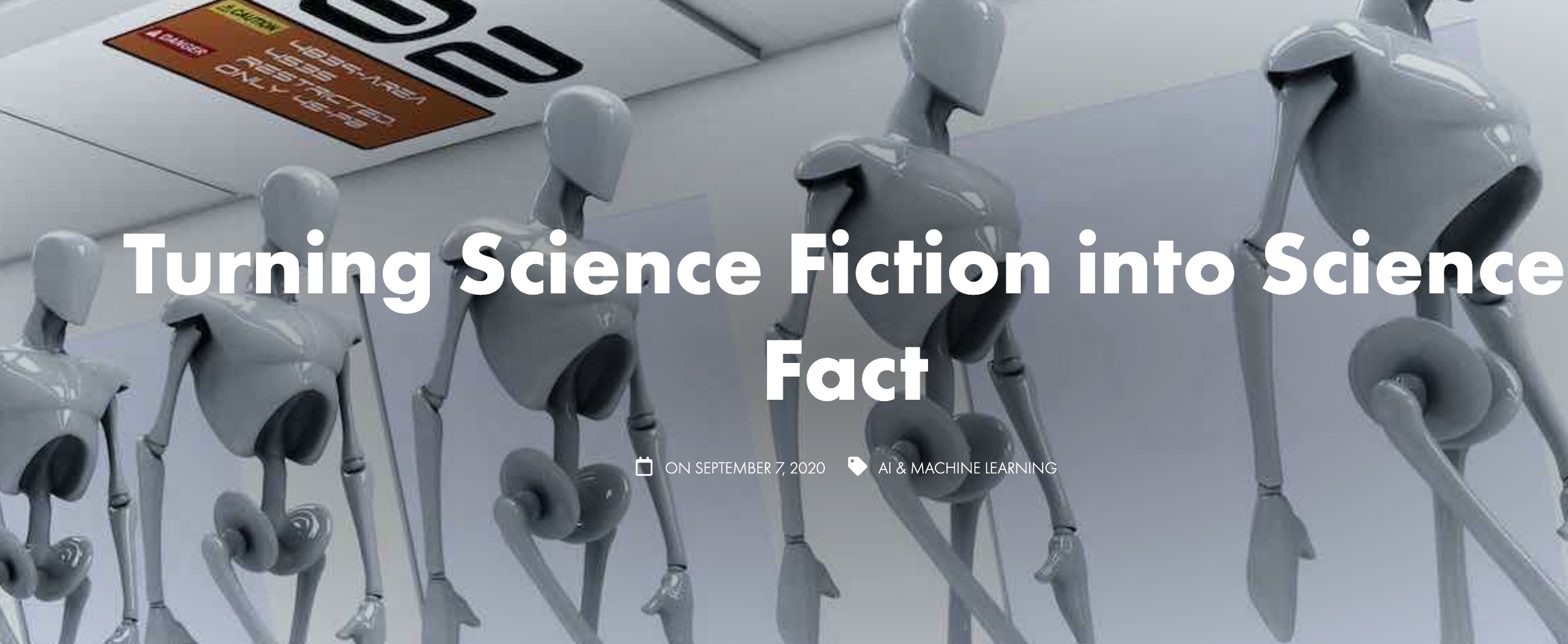Fiction to Fact