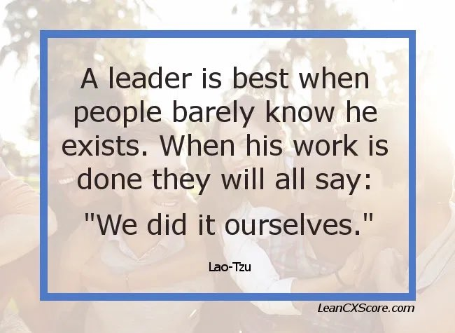 Invisable Leaders