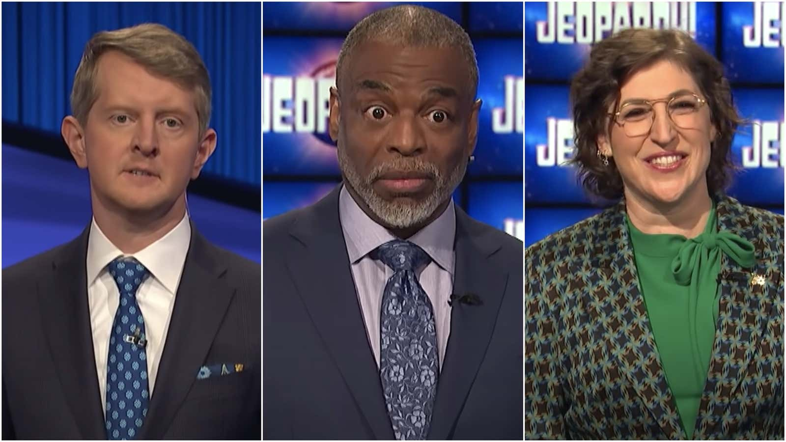 Jeopardy Hosts