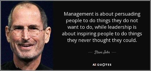 Jobs on Leadership