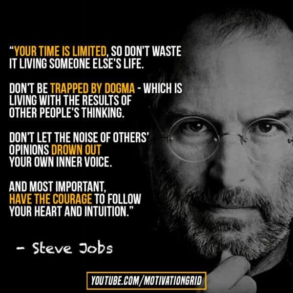 Jobs quotes