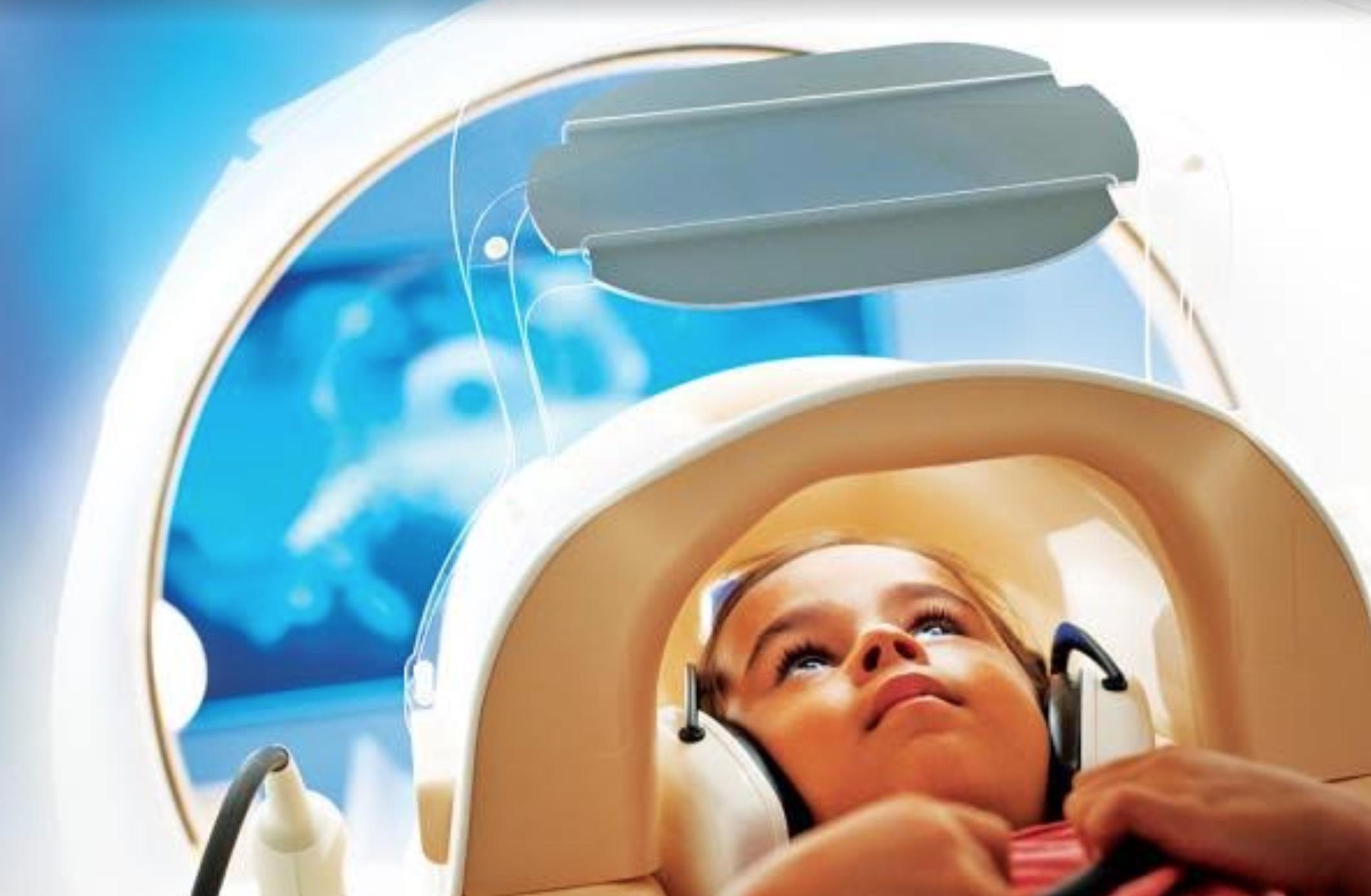 Kid in MRI