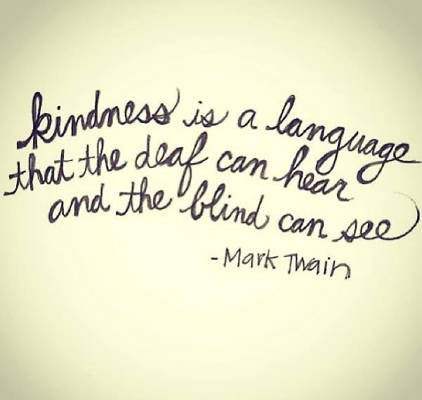Kindness Mark Twain