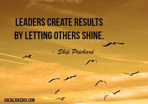 Leaders Creat Results