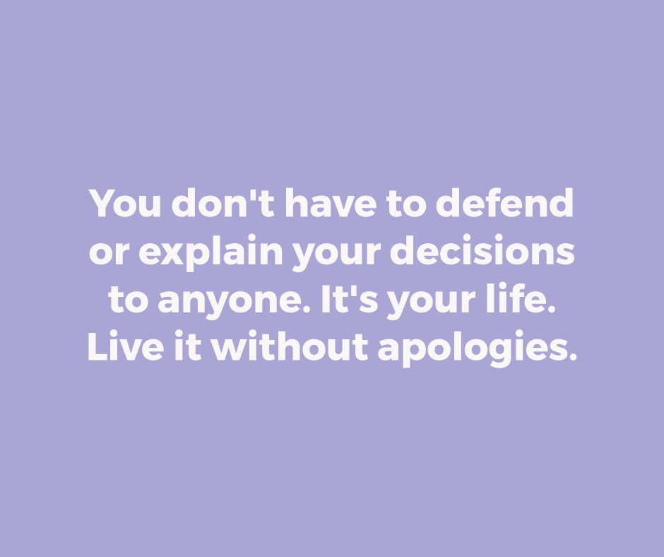 Live Without Apologies