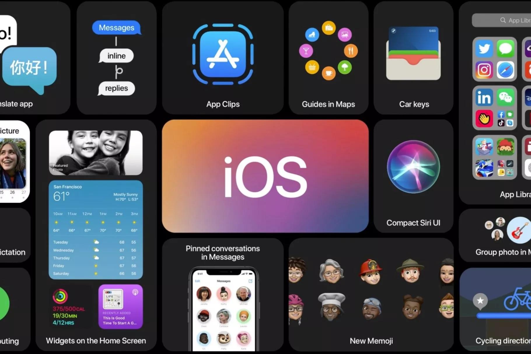 New Apple OS