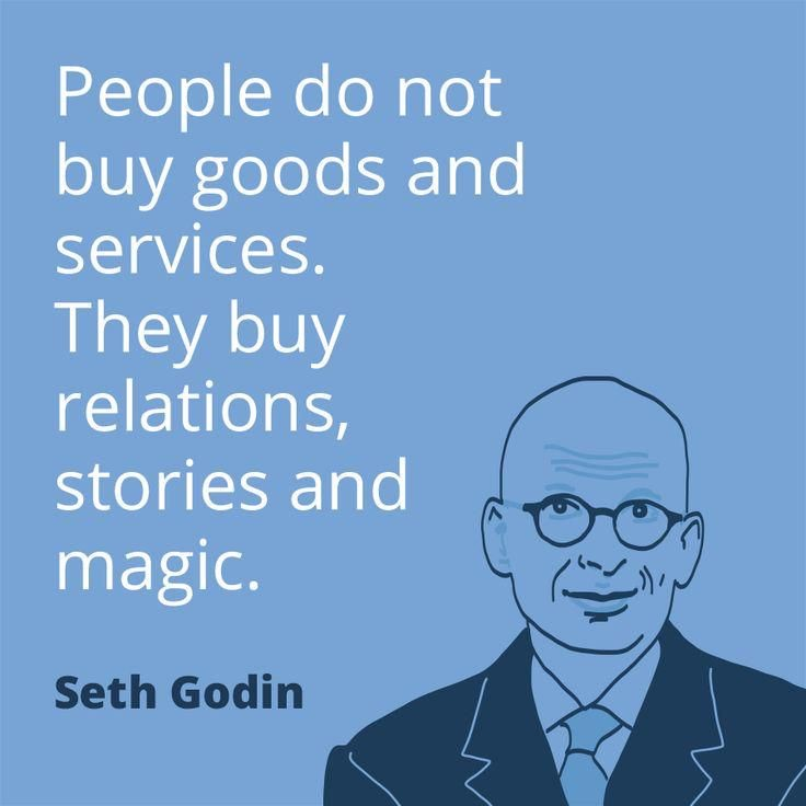 People Buy Relationships