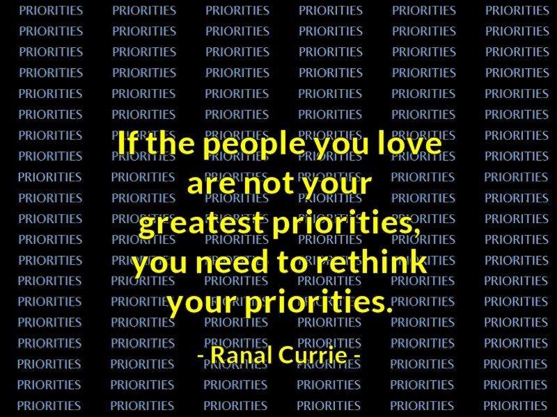 People Priorities
