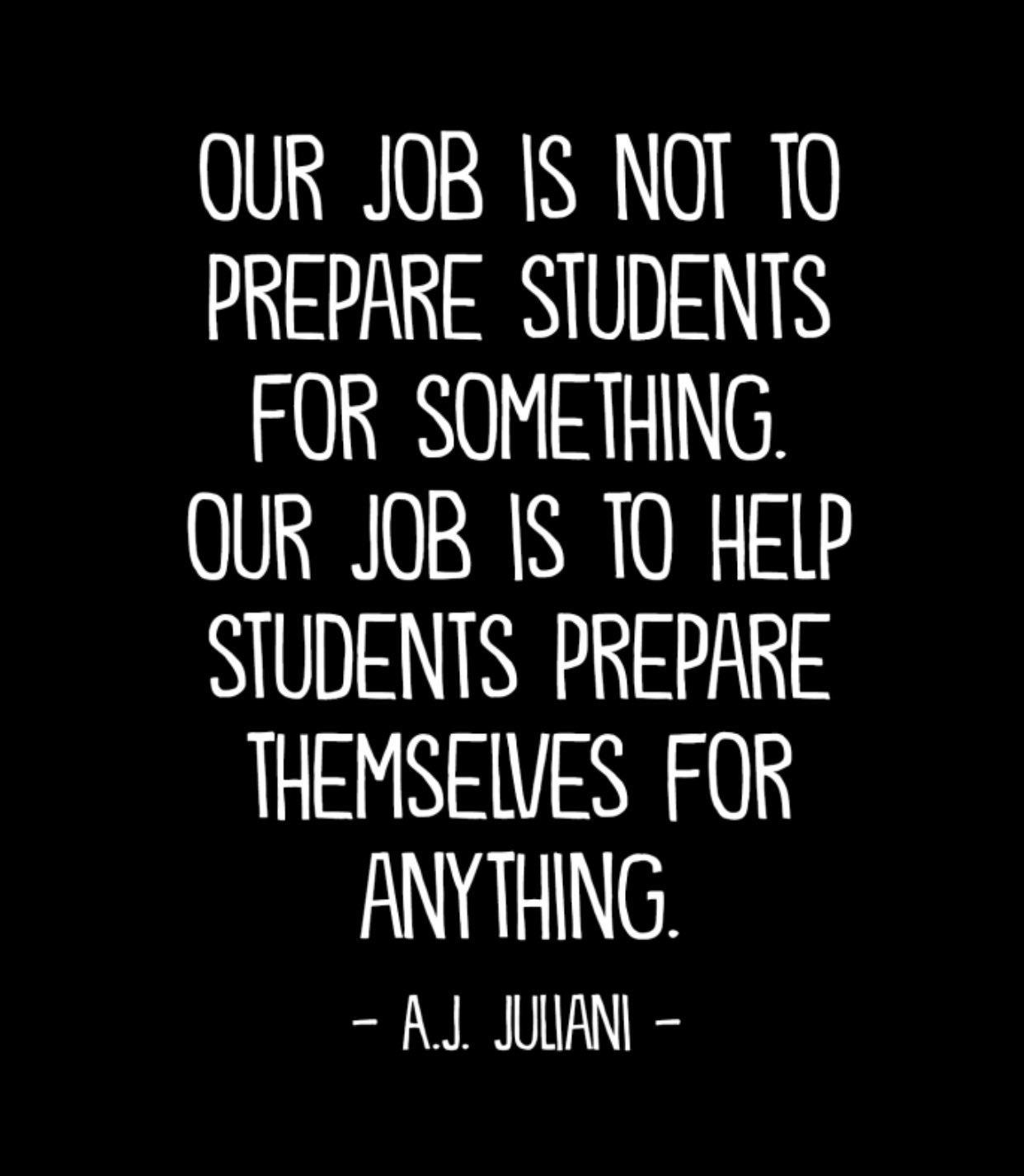 Preparing Students
