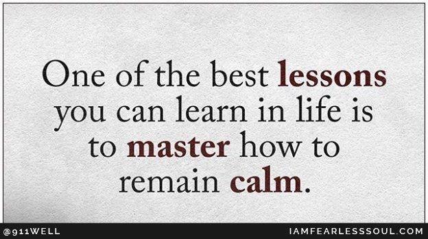 Remain Calm