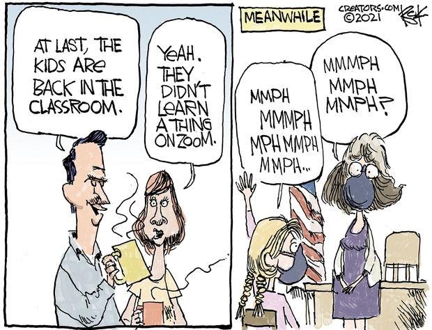 Reopening Cartoons