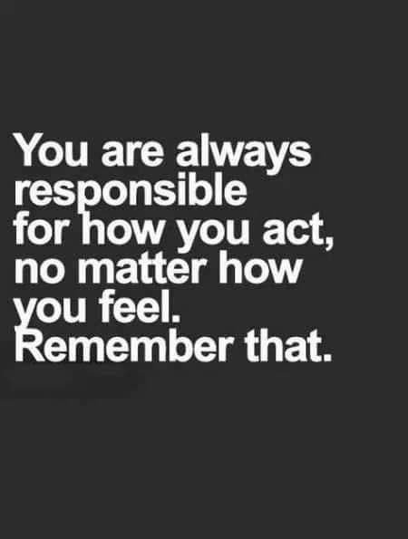 Responsible quote