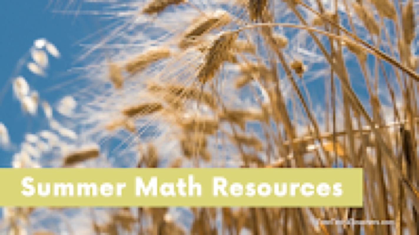 Summer Math Games