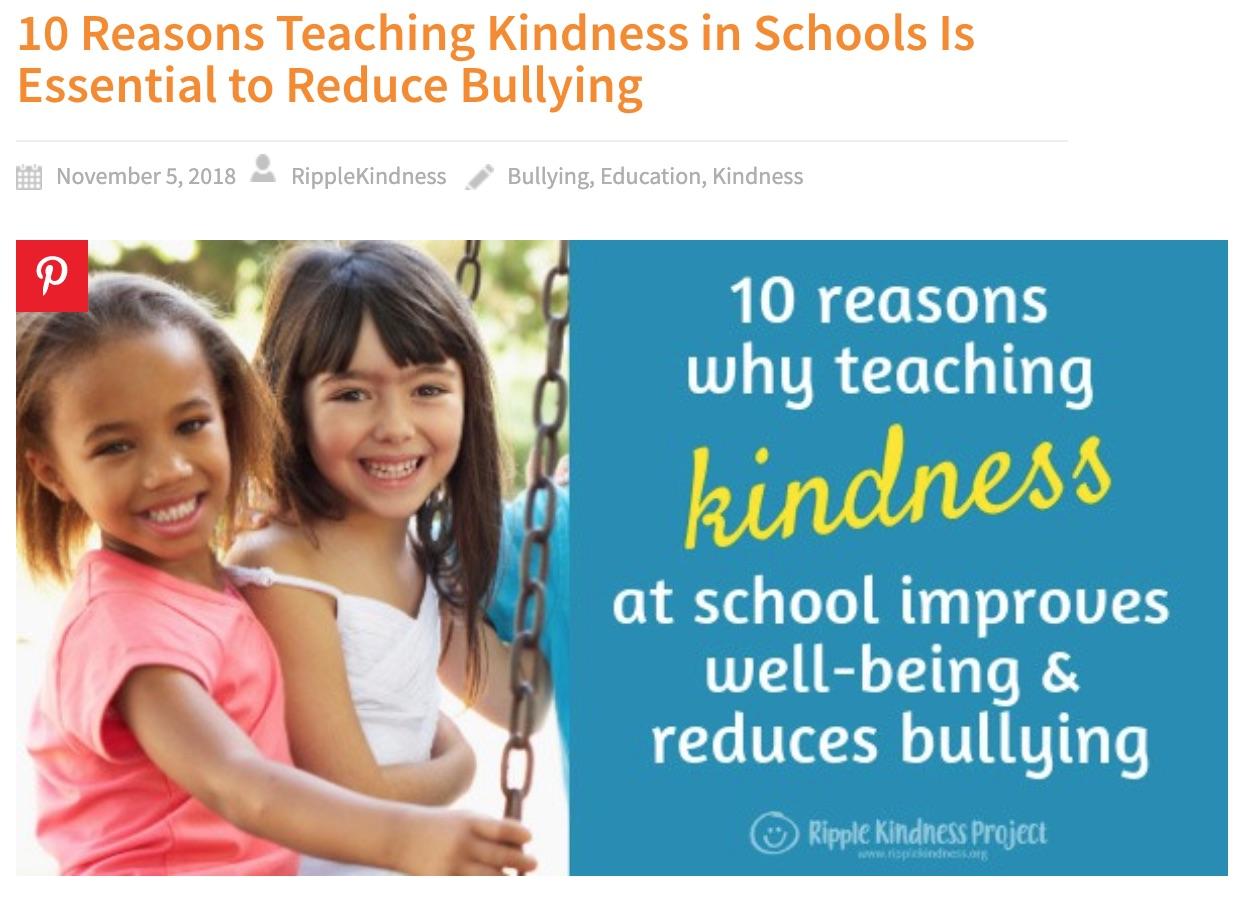 Teach Kindness