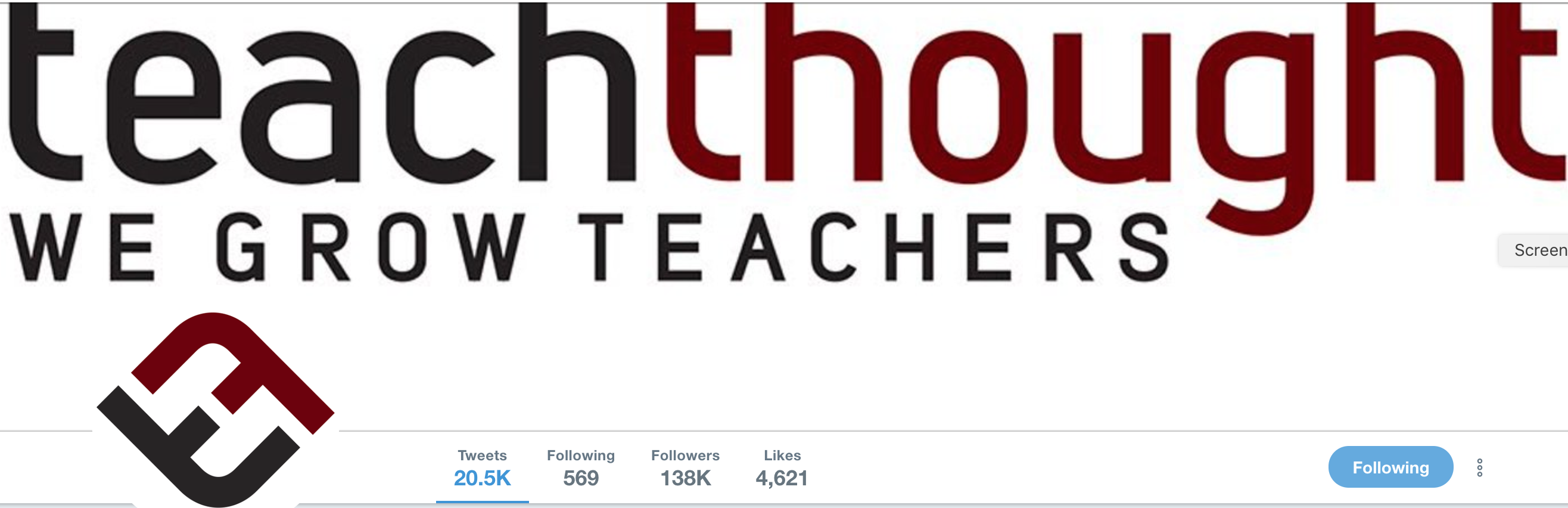 Teachthought on Twitter