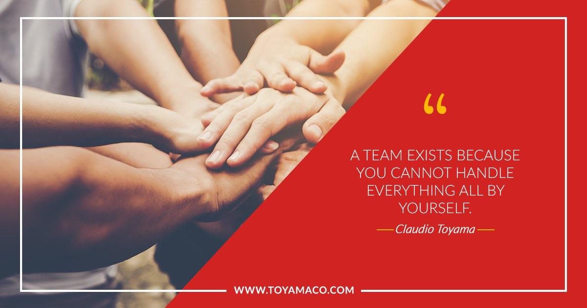 Team quote