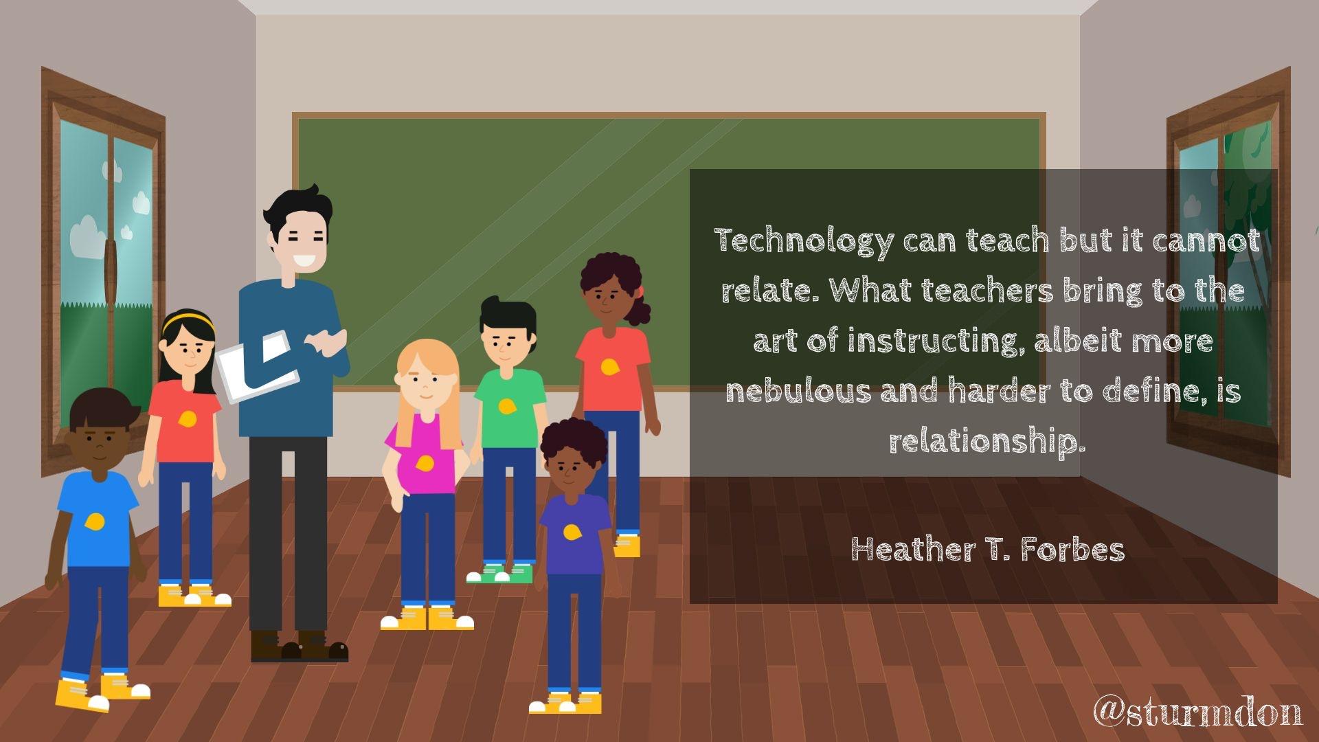Tech Can Teach