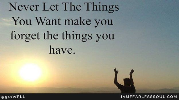 Things you have