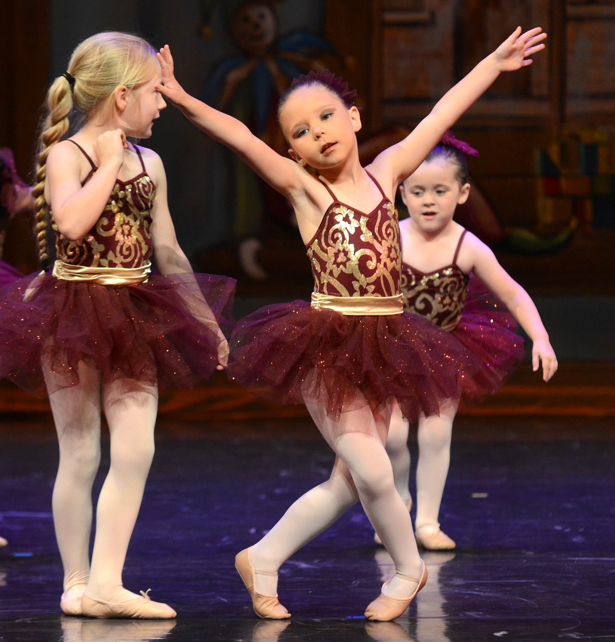 Three Ballerins