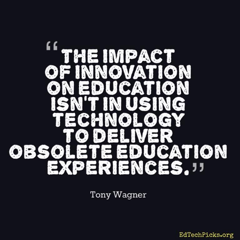 Tony Wagner Quote