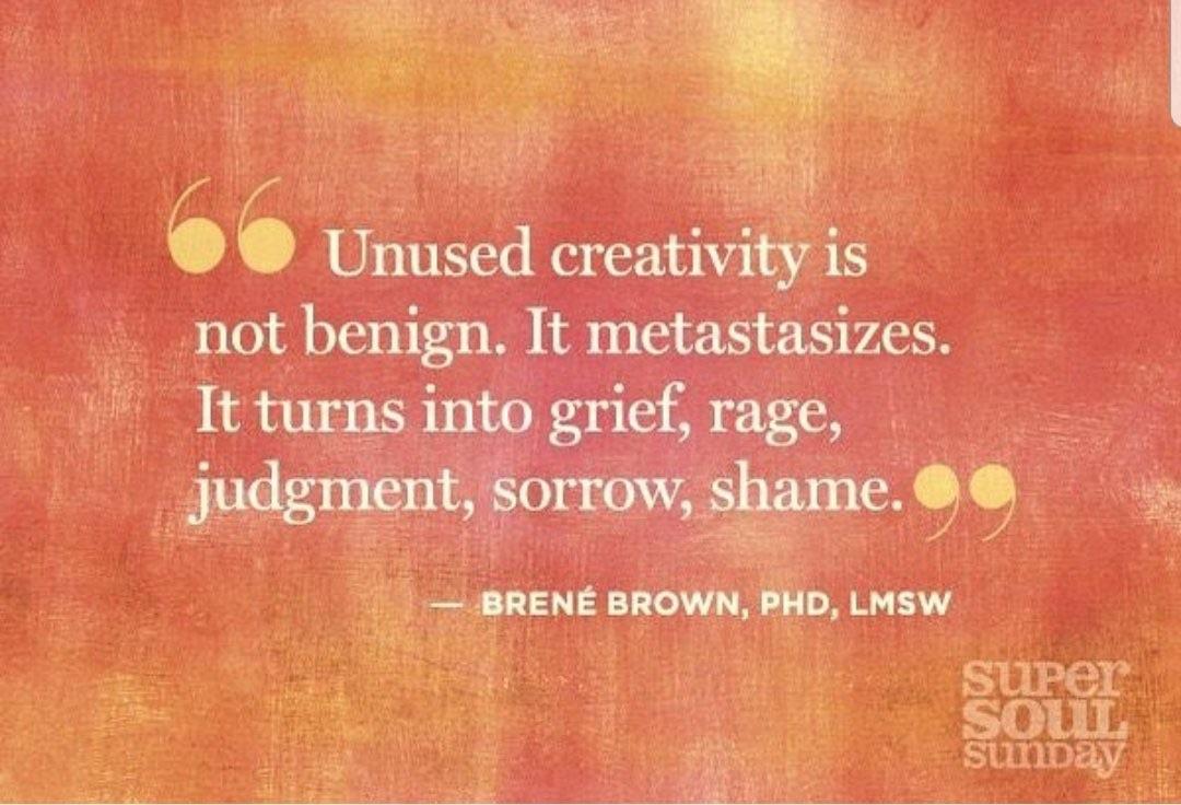 Unused Creativity